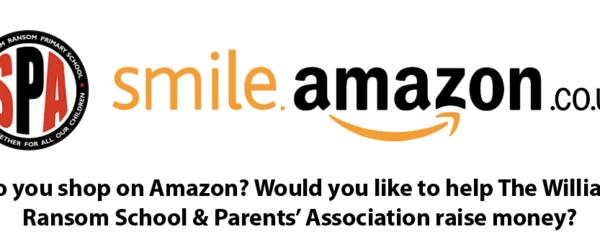 SPA + Amazon Smile = £'s for the school